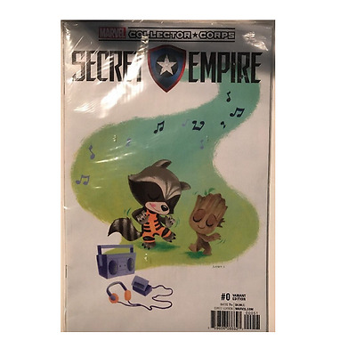 COMIC SECRET EMPIRE #0 Variant Comic COVER MARVEL COLLECTOR CORPS EXCLUSIVE