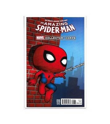 Comic The Amazing Spider Man Collector Corps Exclusive #16 Variant Nmib