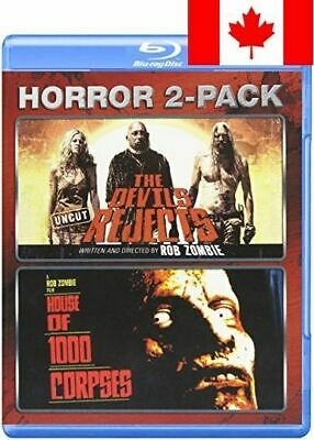 Rob Zombie Horror 2-Pack (The Devils Rejects: Uncut / House of 1000 Corpses) ...