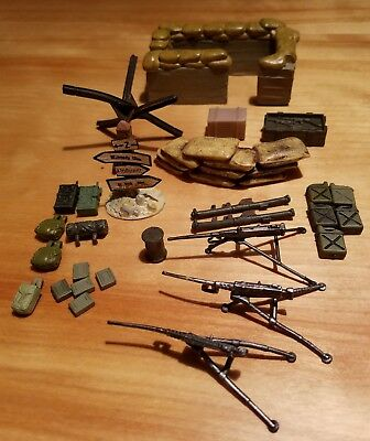 Ultimate Soldier/Forces Of Valor And Others Accessory Lot # 4, 1/32.