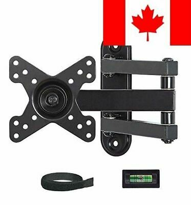 Mounting Dream MD2463 TV Wall Mount Bracket with Full Motion Articulating Arm...