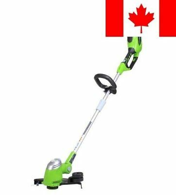 GreenWorks 21332 G-MAX 40V 13-Inch Cordless String trimmer - Battery and Char...