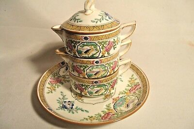Rare Minton Japonica Stacking Single Teapot
