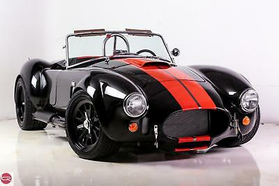 1965 Shelby RT3 Leather NEW 1965 BACKDRAFT ROADSTER 427 Ford 480HP T5 BLACK MAGIC ORANGE STRIPES