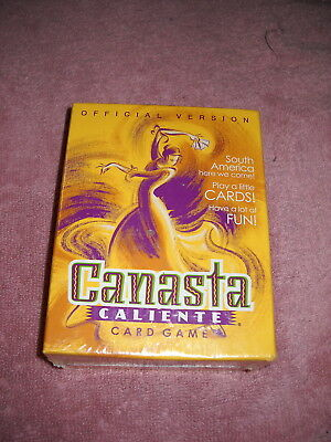 Canasta Caliente Card Game NEW sealed South America Latin Theme