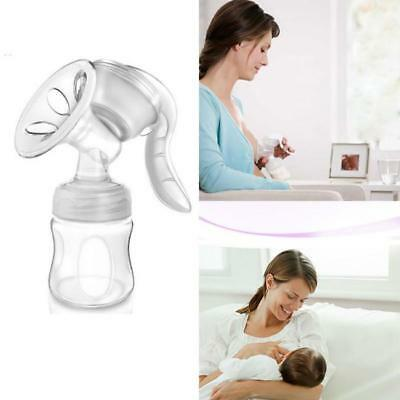 Manual Breast Pump Breastpump Baby Feeding Milk Sucking Suction Milking Tool LD