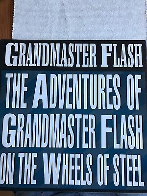 "Grand Master Flash. The Adventures /the Message 12"" Hip Hop Old Skool Breakd"