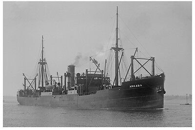 ARKABA - Adelaide Steam Ship Co at Melbourne Modern Digital Photo Postcard
