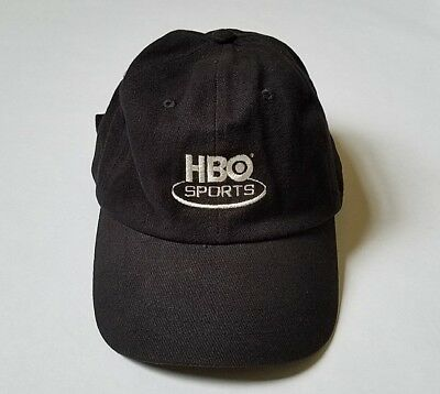 Rare Official Hbo Sports Tv Promo Hat - 24/7 Boxing Real State Of Play Series