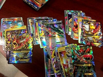 New Pokemon TCG: 6 FLASH CARD 4 MEGA AND 2 GOLD LOT RARE US Stock