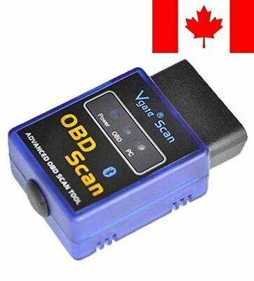 Bluetooth Scan Tool OBD2 OBDII Diagnostic Tools Scanner for Torque Android App