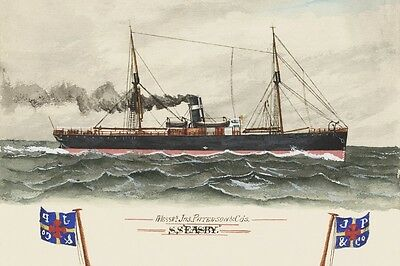 ss EASBY - James Paterson & Co, Melbourne digital art Postcard Modern