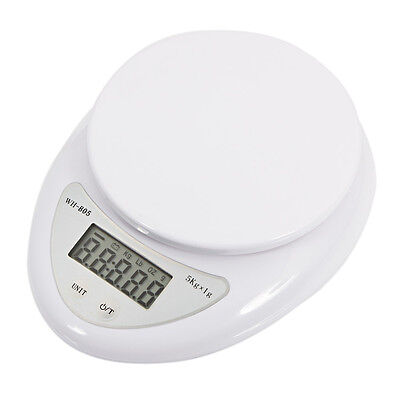Compact 5Kg /11lbs x 1g Digital Kitchen Scale Diet Food
