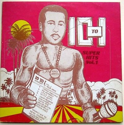 VARIOUS / 10 to 1 SUPER HITS  [ JAMMY'$ ] LP