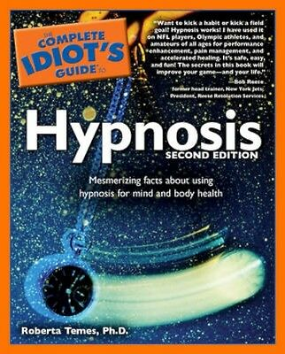 NEW Complete Idiot's Guide To Hypnosis by Roberta Temes BOOK (Paperback)
