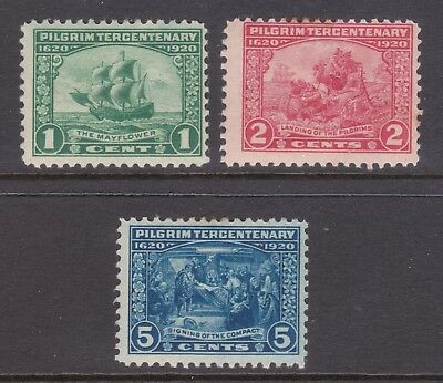 old USA stamps: 1920 Pilgrim Tercentenary Mint