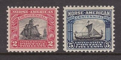 old USA stamps: 1925 Norse-American set Mint