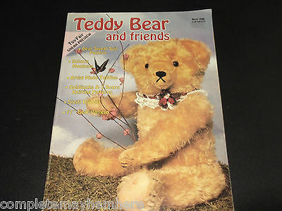 Teddy Bear and friends April 1988 Steiff Rabbits Making Outfits Collecting