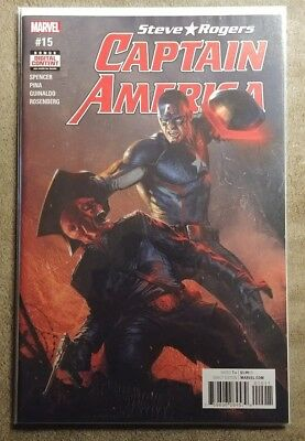 Captain America #15 First Print Gabriel Dell'otto Cover Key Issue