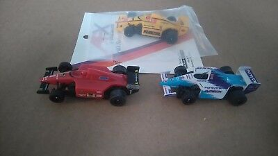 3 AFX Tomy  F1 Indy HO Slot Cars (Brand New)
