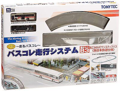 TOMIX N Scale Moving Bus System Basic Set B3 Japan B1541