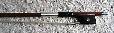 Good 4/4  NEW silver mounted PECCATTE copy violin bow