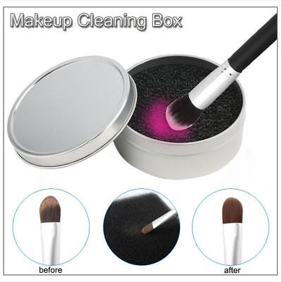 Quick Wash Cosmetic Makeup Brush Dry Cleaners No Water Cleaning Tool Sponge B TA