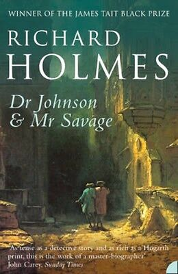 NEW Dr Johnson And Mr Savage by Richard Holmes BOOK (Paperback) Free P&H