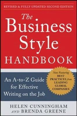 NEW The Business Style Handbook, Second Edition: An A-To-z... BOOK (Paperback)