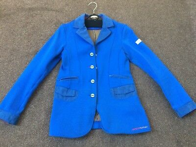 Animo Kids Age 10 Show Jacket Blue