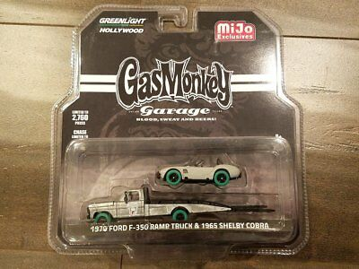 Greenlight 1/64 Gas Monkey Garage 1970 Ford F-350 & Shelby Cobra Chase Car Error