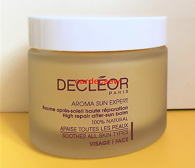 Decleor 50ml HIGH REPAIR AFTER SUN BALM FOR FACE Professional Salon Size