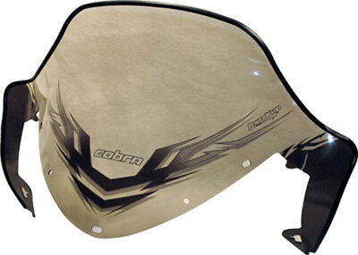 Powermadd 11931 Windshield 13in. Clear/Black Graphics