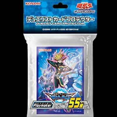 Yugioh OCG Duelist card protector sleeves Playmaker 55pcs holo