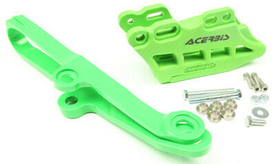 Acerbis 2449450006 2.0 Chain Guide/Slider Kit Green
