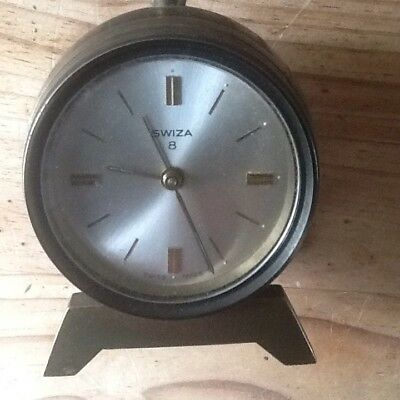 Swiza Genie Alarm Clock For Spares Or Repair