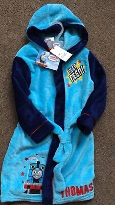 Brand New With Tags Boys Age 3-4 Thomas The Tank Dressing Gown From Boots.