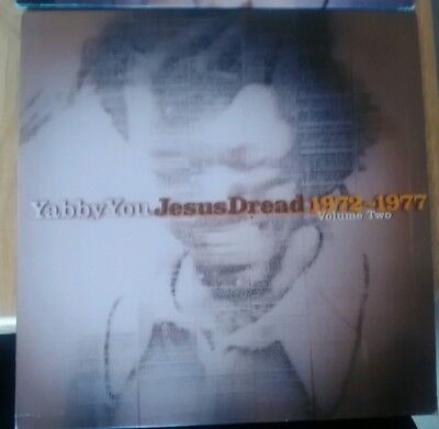YABBY YOU - JESUS DREAD Vol 2 DBL vinyl 180g Blood and Fire KING TUBBY SVLP 318