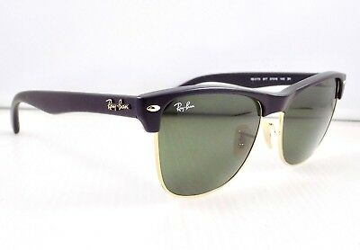 Ray Ban Clubmaster Oversized Matte RB4175 & Case