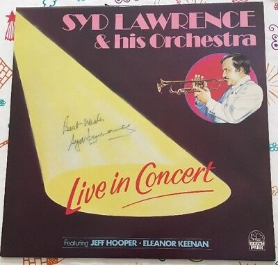 Syd Lawrence & His Orchestra Live Hand Signed MINT LP