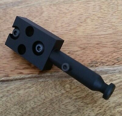 UIT / Anschutz rail - low profile spigot for Phoenix Bipod.