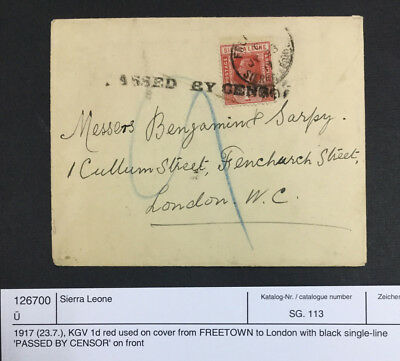 Momen: Sierra Leone # Cover $70 Lot #7290