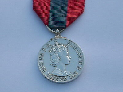 British Imperial Service Medal, Queen Elizabeth awarded to Percy George Morrison