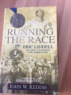 RUNNING THE RACE - SEBASTIAN COE & JOHN KEDDIE - SIGNED 1st EDITION PAPERBACK BO