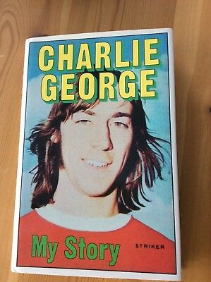 CHARLIE GEORGE - MY STORY - SIGNED 1st ed. BOOK