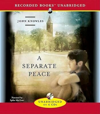 NEW A Separate Peace by John Knowles AUDIO-BOOK (CD-Audio) Free P&H