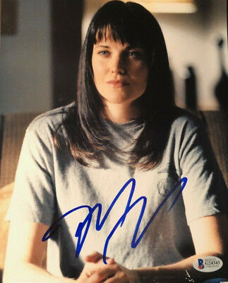 Lucy Lawless signed autographed 8x10 photo X-Files Spartacus Xena AUTHENTICATED