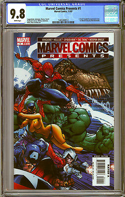MARVEL COMICS PRESENTS #1 CGC Grade NM/Mint 9.8 J. SCOTT CAMPBELL Cover