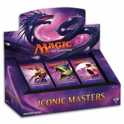 PREORDER Magic The Gathering MTG Iconic Masters Booster Box Display - 24 Booster