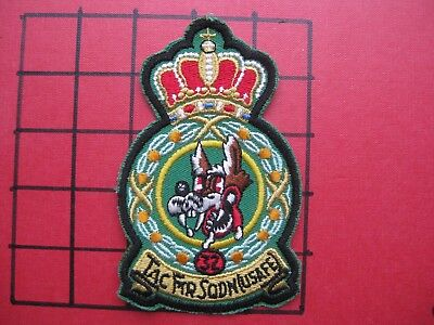 Original Squadron Patch Usafe 32 Tfs Fighter Sqn Soesterberg Wolfhounds  F-4 Era